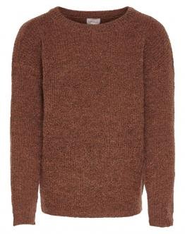 ONLY KIDS Konalice Pullover Knit Maglia Ginger YRS 15187316 - Mattone