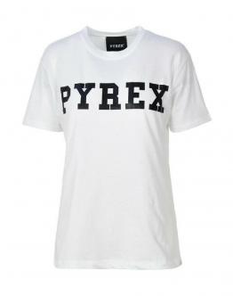PYREX T-Shirt Big Logo Bianca 20IPB34221 - Bianca