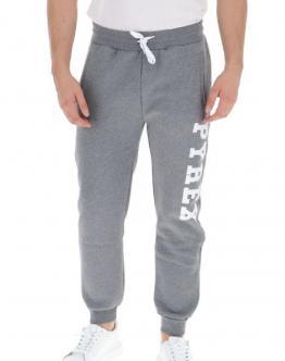 PYREX Pantalone di Tuta con Molla Big Logo Laterale Grigio 20IPB40352 - Grigio