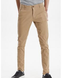 BLEND Bhnatan Chino Pantalone Basic Beige 2070347275107 - Marrone