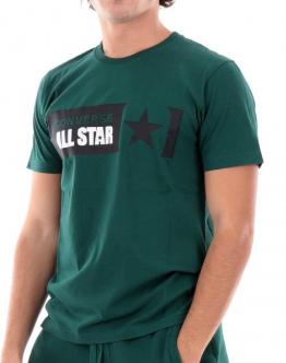 CONVERSE T-Shirt All Star Verdone 10021318333 - Verde