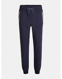 GUESS Pantalone Tuta Cerniere Gommate Blu M0YB37K7ON0G720 - Blu