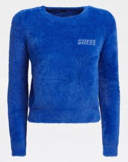 GUESS Maglia Morbida Blu W0BR0LZ2740G7N9 - Blu