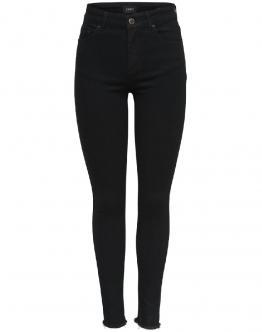 ONLY Blush Jeans Vita Regolare Skinny Nero 15167313 - Nero