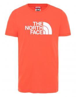 THE NORTH FACE T-Shirt Big Logo Arancio NF0A2TX3R151 - Red